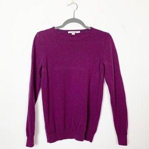 Boden Sweaters - Boden 100% Cashmere Crewneck Sweater Purple 8